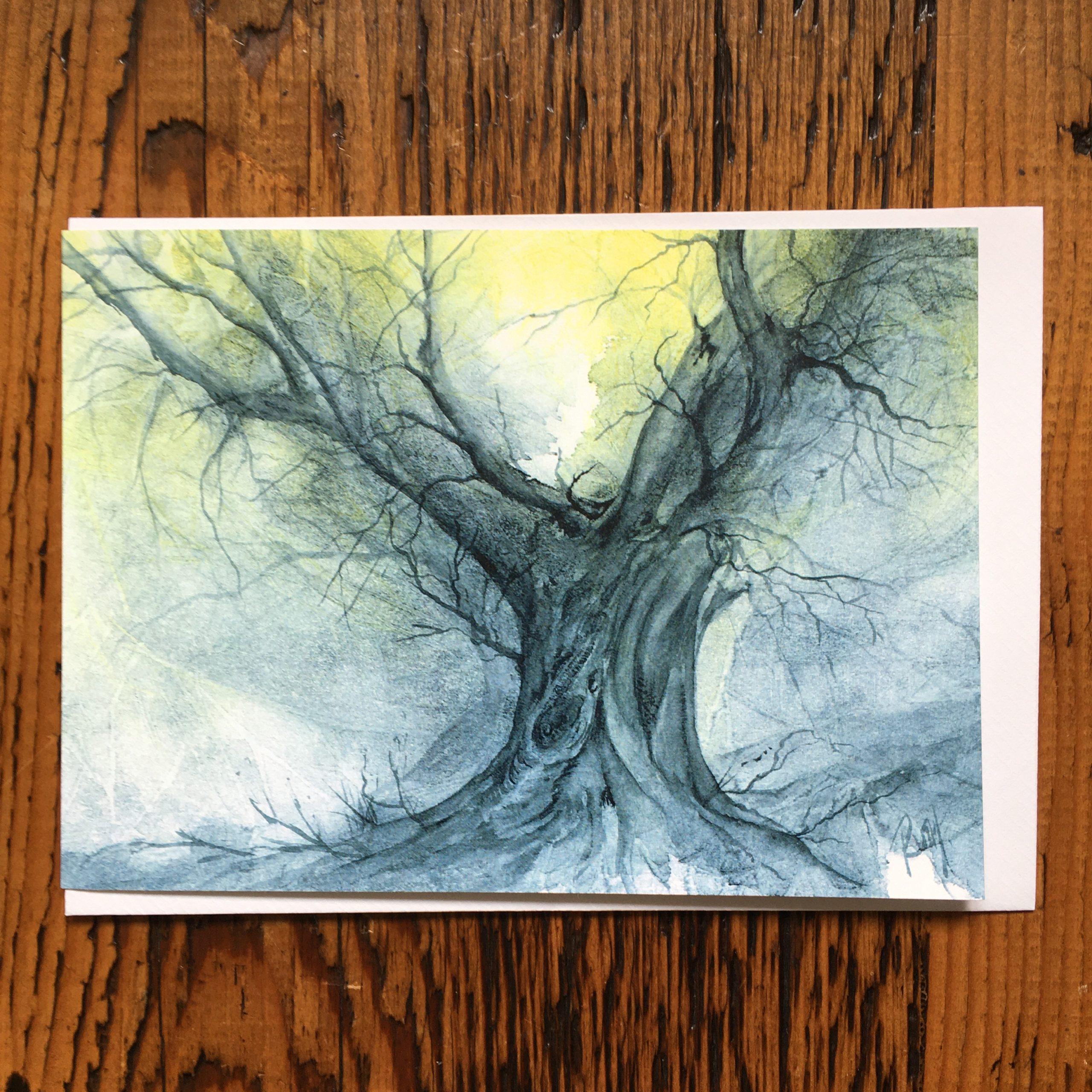 Ancient Oak Card